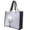 PVC Shopping Packaging bag Fashion Shopper Tote harrod customized bag PVC-0002 High quality