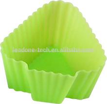 jabón de silicona chocolate taza de galletas para hornear la torta del molde de herramientas