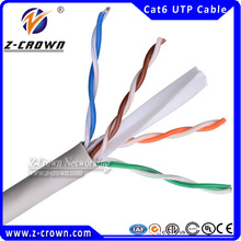 UTP cat 6 yellow ethernet cable network cable
