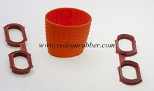 FDA approved rubber silicone cup sleeve