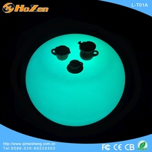Supply all kinds of wedding bar LED table,banquet cocktail LED table