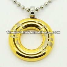 Hot stainless steel Polished necklace pendent