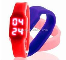 Electronic LED watch wrist band usb flash drive 2GB bracelet watch thumb pen drive memory stick