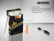 Rechargeable huge vapor premium 812D disposable ecigarettes starter kit