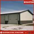 Avançado modern design personalizado resistência ao vento estrutura de aço ovelhas galpão