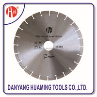 multiple segment saw blade cutting for stone