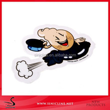 Sinicline 2015 crazy hot sale new arrival cute stickers for cars