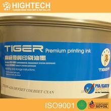 YMCK color good water transfer offset sheet fed printing ink