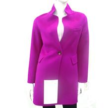 15QF1213 women double layer 100% wool jacket