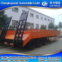 Customized best selling low bed semi truck trailer for sale
