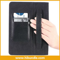 2013 New Wallet Hand Belt Stand Case For iPad Mini