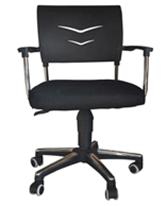 Modern design hot sale best fabric swivel chair with metal frame CCP001