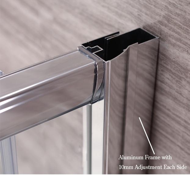 shower door frame parts glass sliding shower door aluminum shower door