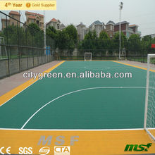 Easy Installation Outdoor Futsal / Soccer Surfaces