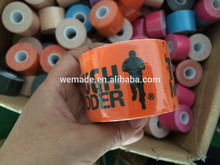 Sporting goods logo printed OEM kinesiology tape certificated by CE FDA ISO13485
