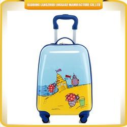 kids ABS travel trolley luggage cartoon children travel trolley luggage cute kids travel trolley luggage