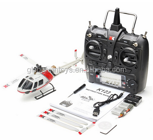 XK K123 6CH Brushless AS350 Scale 3D6G System RC Helicopter Remote Control Toy Helicopter RTF Drone.png