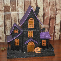 2014 Best selling Paper Halloween house with pumpkin from Shenzhen China factory
