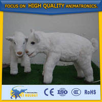 High attaction Vivid Animated Baby Goat Animal Model