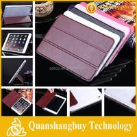 Luxury Soft Suede Leather Flip Case Ultra Thin Stand Smart Cover For Apple iPad Mini iPad mini2 iPad mini3