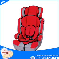 China manufactured headrest adjustable inflatable baby car seat