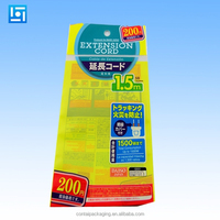 custom printed plastic canvas tote cellophane bags/cellophane bag with logo/self adhesive sealing plastic header cellophane bag