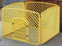 Plastic pet dog playpen fence rabbit puppy exercise play pen yard enclosure