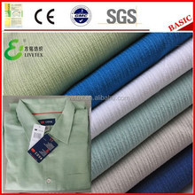 Imitated modal poly fabric for mens shirt
