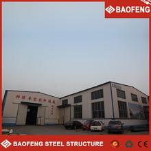 luxury prefabricated heat resisting corrugated sheet warehouse