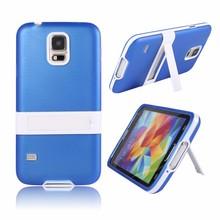 Dropship Best Rated Genuine Luxury Soft TPU Flexible Transparent Back Cover Kickstand Phone Case Housing for Samsung Galaxy S5