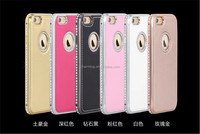 High Quality Bling Hard Leather Case For iPhone 6