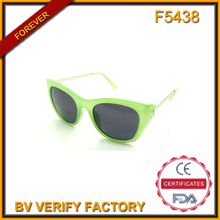 F5438 Neon Sunglasses with Metal Legs For Promotion( China Wholesale Factory)