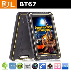 professional technology support PHC271 Cruiser BT67 customizing 3G Rugged Tablet Quad Core