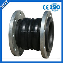 Hot sale rubber expansion joint types with flanges