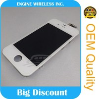 Supply morden item for iphone 4s lcd display with touch screen and digitizer assembly