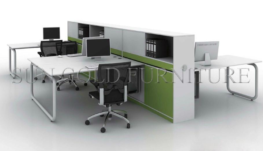 moderne sexe meubles s parateur de bureaux workstation bureau pour 4 personne sz ws267 cloison. Black Bedroom Furniture Sets. Home Design Ideas