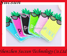 Cute 3D Silicone Case Cover for iPhone 4 5 6 Victoria/'s Secret Fruit Pink pineapple case