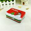 Hot sale decorative Christmas metal gift rectangle tin box