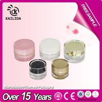 5g Professional factory small clear travel containers for cosmetics