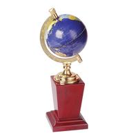 With Shine Metal Globe ball Souvenirs