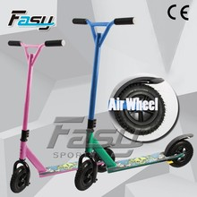 Fasy adult two wheel stunt scooter, scooter pedal adult