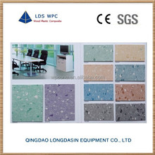 Hospital commercial use homogeneous pvc flooring