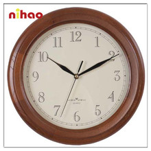 2015 Large and Cheap Wooden Wall Clock Wholesale