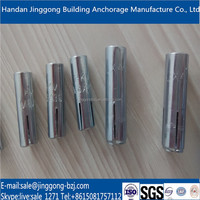 Factory sale all kinds of drop in anchors/expansion anchor/concrete bolt fixing anchors