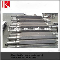 flatbed trailer spare parts , low price square beam axle tube