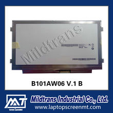 Real large stock 10.1 inch B101AW06 V.1slim led screen
