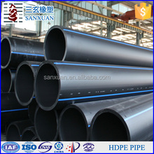 6 inches diameter PE new material HDPE plastic water pipe