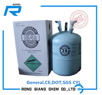 R134a Refrigerant gas, high purity with good price. best sell in market.