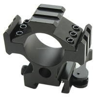 Funpowerland QD Quick release Tri-rail riflescope Mounting rings