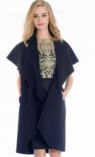 DY1089W 2015 Autumn Fashion Lady Noble Elegant Woolen Poncho Coat
